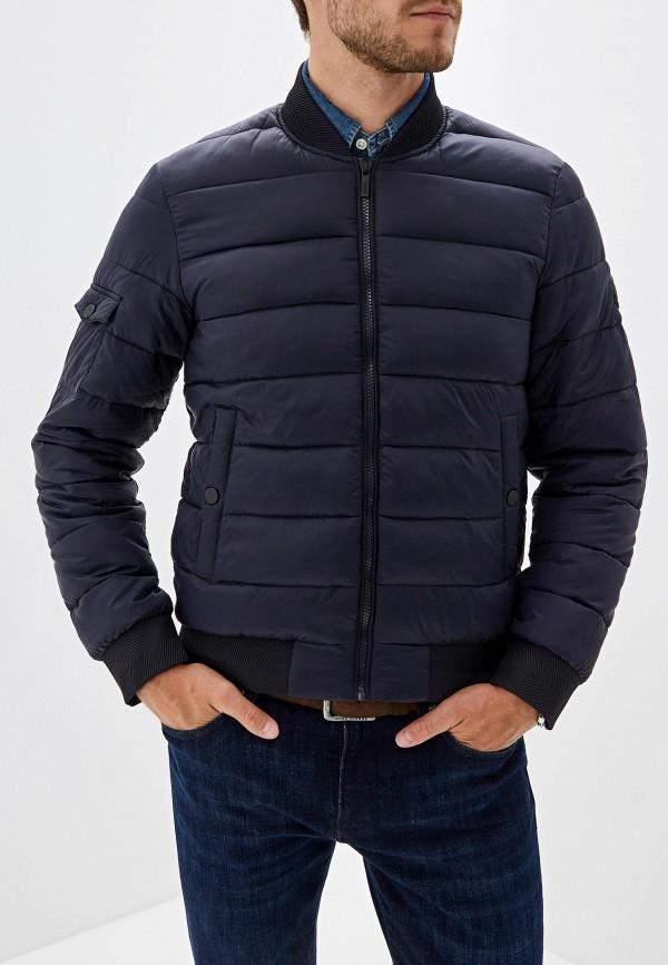 мужская куртка karl lagerfeld, синяя