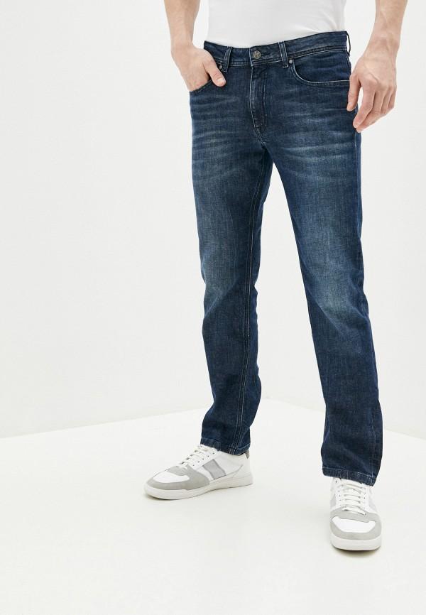 мужские зауженные джинсы karl lagerfeld, синие