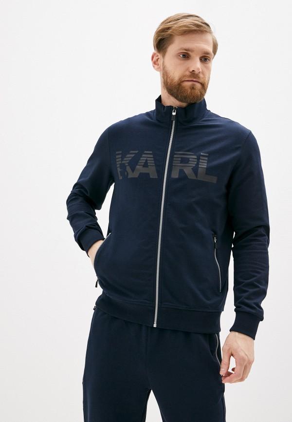 мужская олимпийка karl lagerfeld, синяя