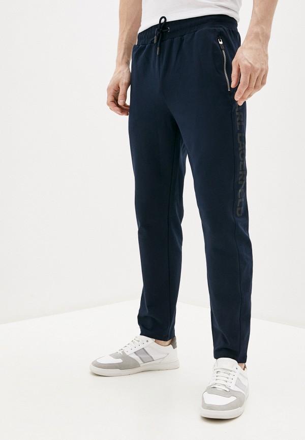мужские спортивные брюки karl lagerfeld, синие