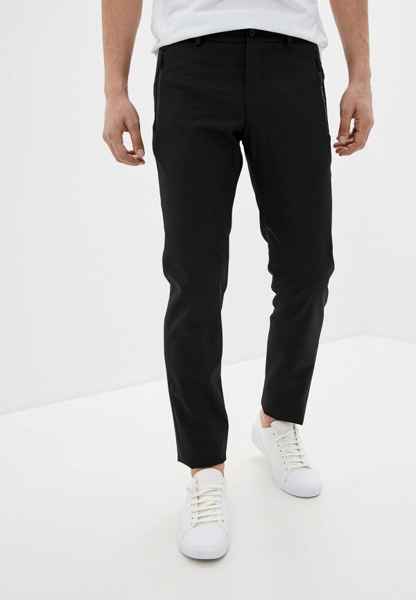 мужские брюки karl lagerfeld, черные