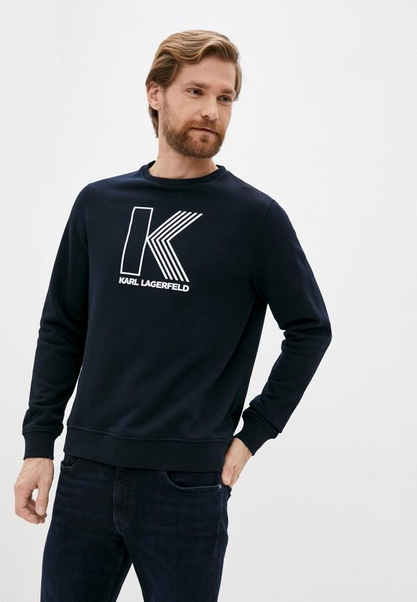 мужской свитшот karl lagerfeld, синий