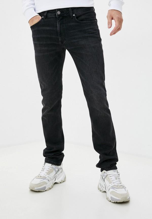 мужские прямые джинсы karl lagerfeld, черные
