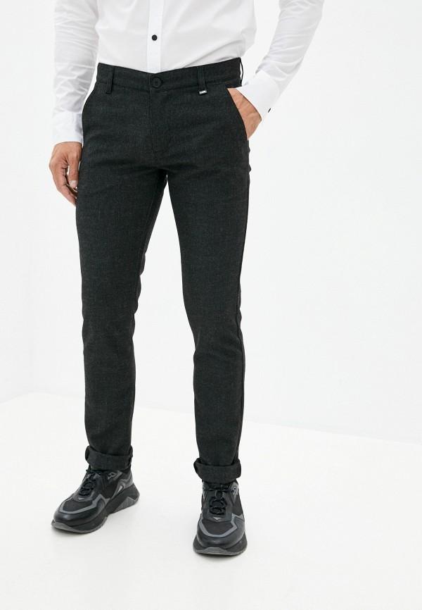 мужские повседневные брюки karl lagerfeld, серые