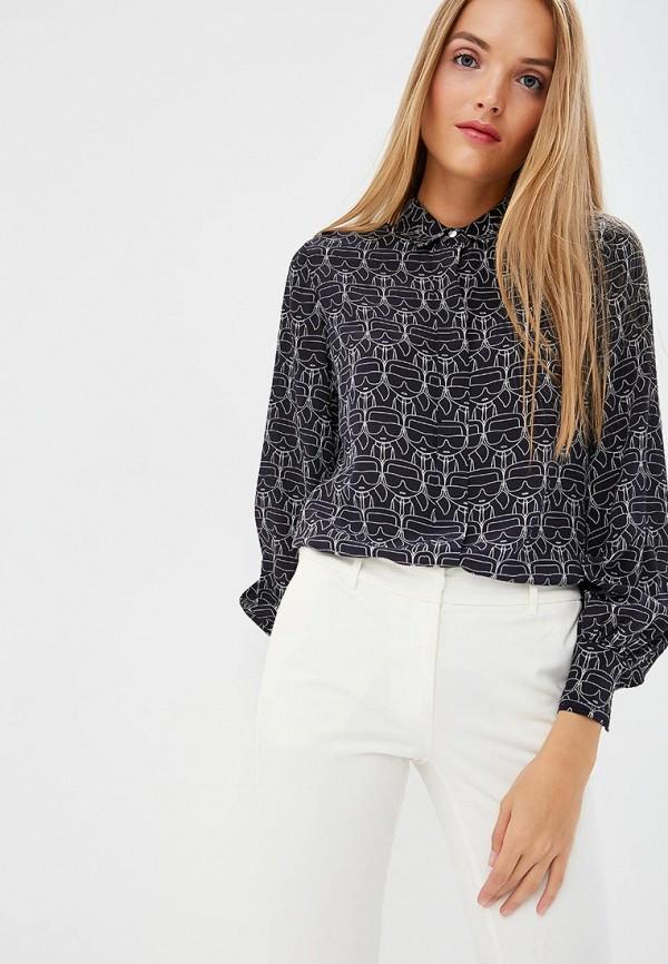 Блуза Karl Lagerfeld Karl Lagerfeld KA025EWBRNW7 цены онлайн