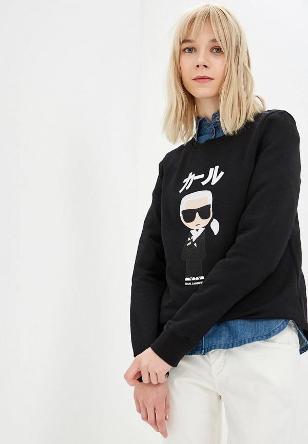 Свитшот Karl Lagerfeld Karl Lagerfeld KA025EWDLCF2 цена