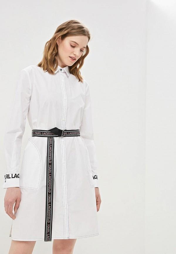 Платье Karl Lagerfeld Karl Lagerfeld KA025EWEGYI0 цена