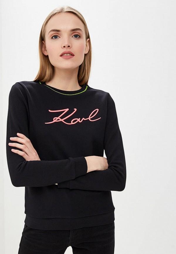 Свитшот Karl Lagerfeld Karl Lagerfeld KA025EWEGYL7 цены