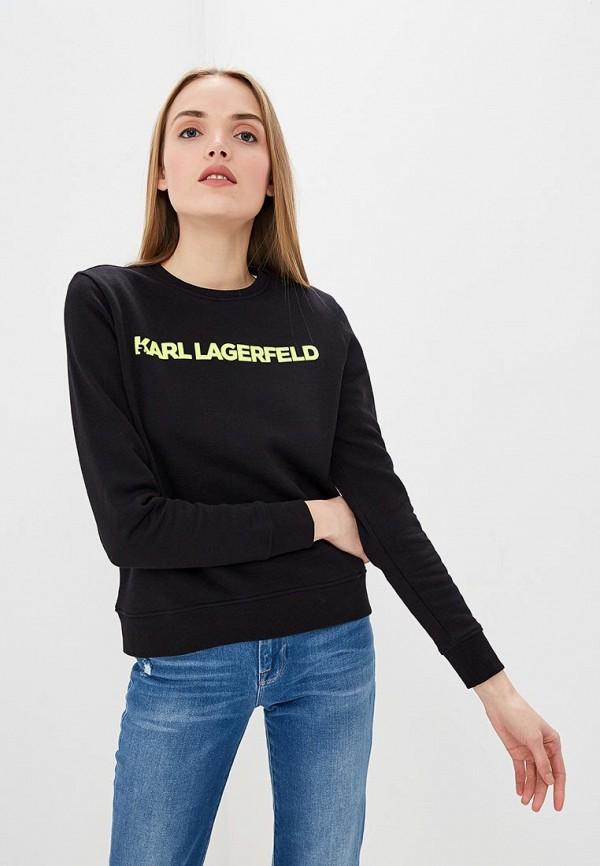 купить Свитшот Karl Lagerfeld Karl Lagerfeld KA025EWEGYL8 по цене 9940 рублей