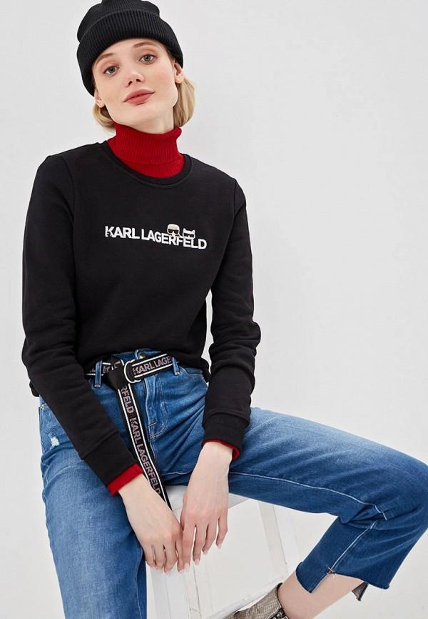 Свитшот Karl Lagerfeld Karl Lagerfeld KA025EWEGYM2 цена и фото