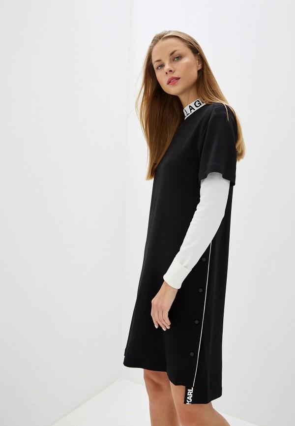 Платье Karl Lagerfeld Karl Lagerfeld KA025EWFRDT0