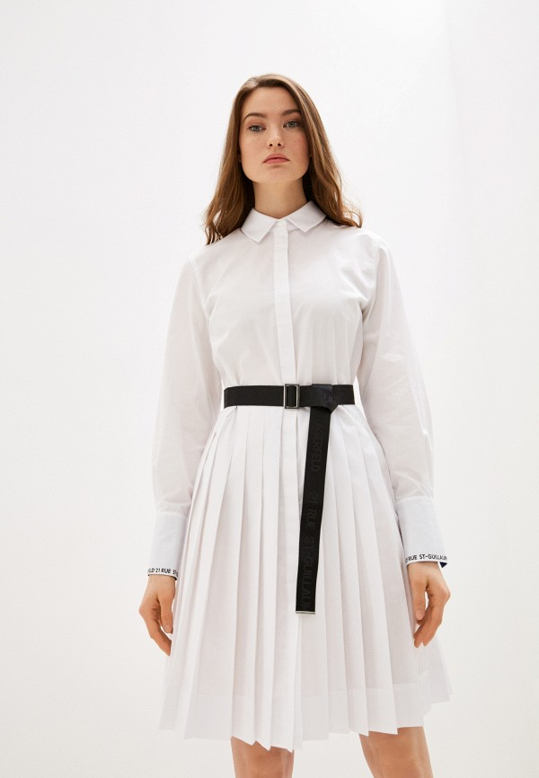 женское платье karl lagerfeld, белое