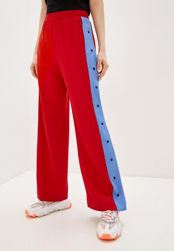 женские повседневные брюки karl lagerfeld, красные
