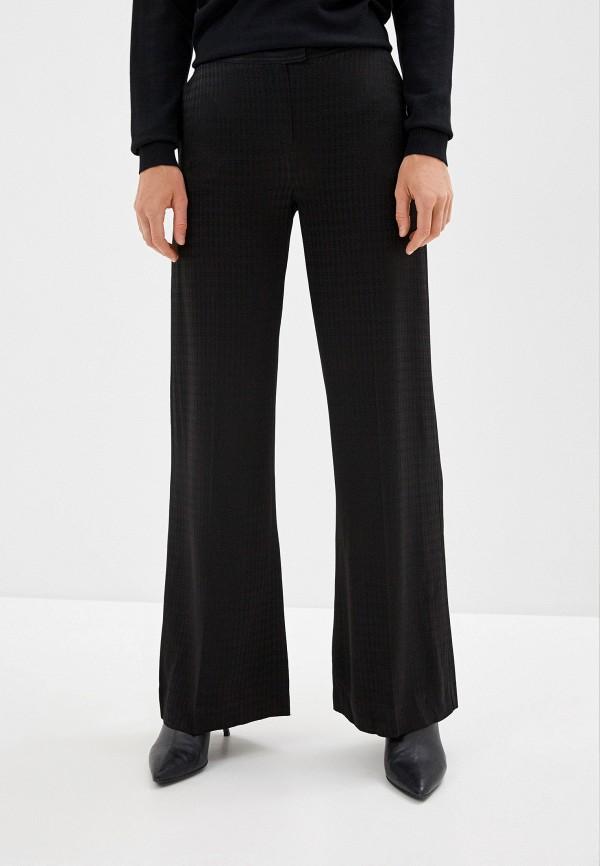 женские повседневные брюки karl lagerfeld, черные