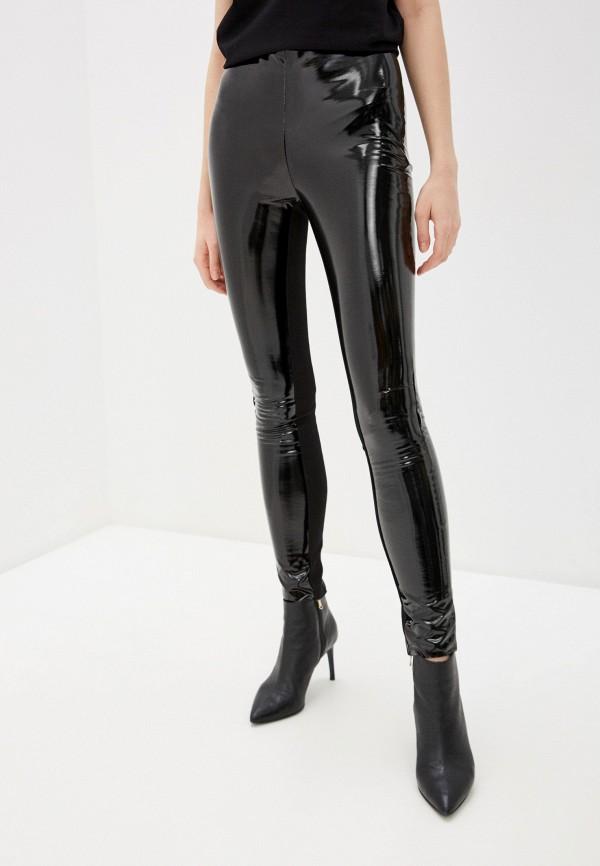 женские брюки karl lagerfeld, черные