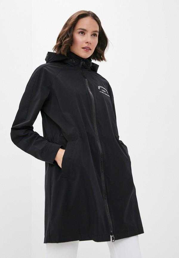 женская ветровка karl lagerfeld, черная
