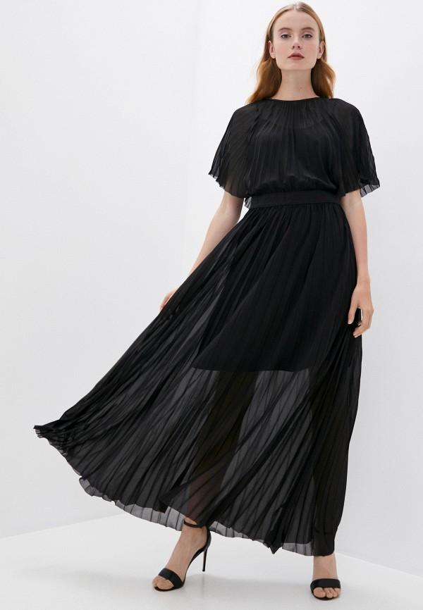 женское вечерние платье karl lagerfeld, черное