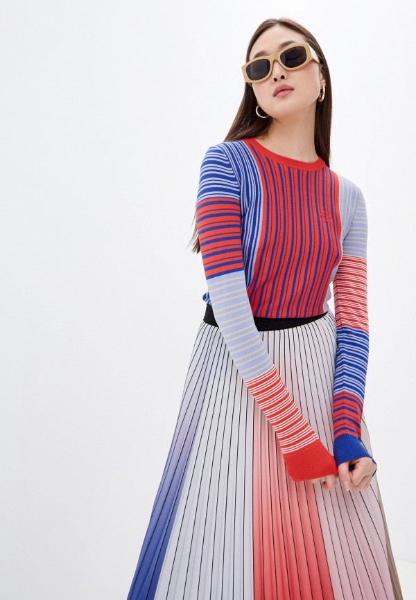 женский джемпер karl lagerfeld, разноцветный