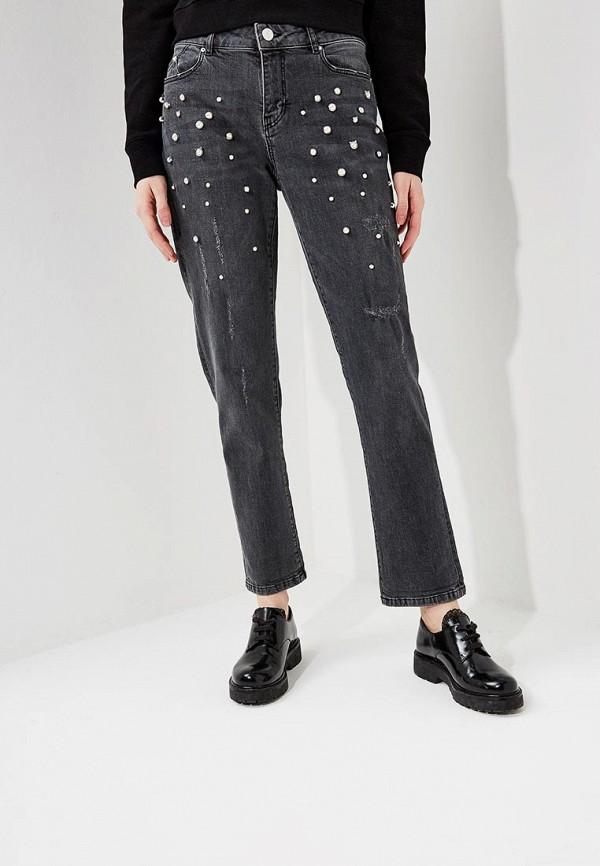 женские прямые джинсы karl lagerfeld, серые