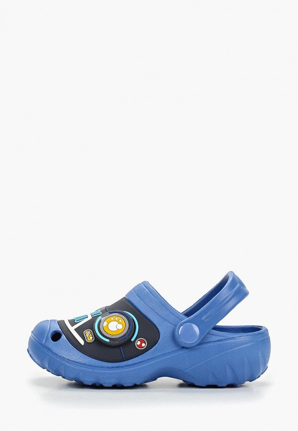 сабо kakadu для мальчика, синее