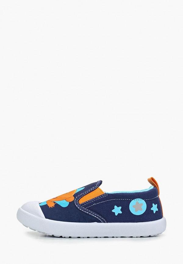 слипоны kakadu для мальчика, синие