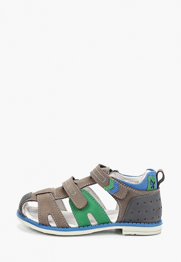 сандалии kakadu для мальчика, разноцветные