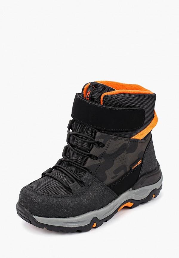 Фото 2 - Ботинки Kakadu черного цвета