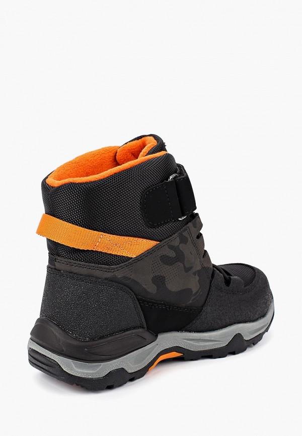 Фото 3 - Ботинки Kakadu черного цвета