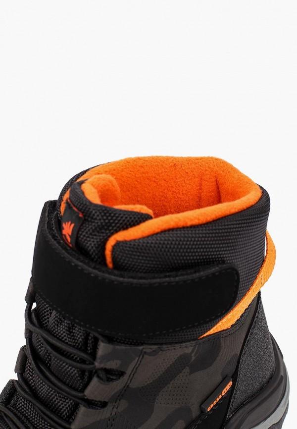 Фото 6 - Ботинки Kakadu черного цвета