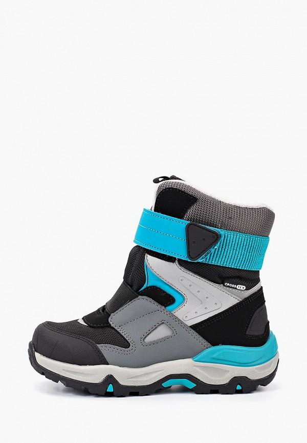 ботинки kakadu для мальчика, разноцветные