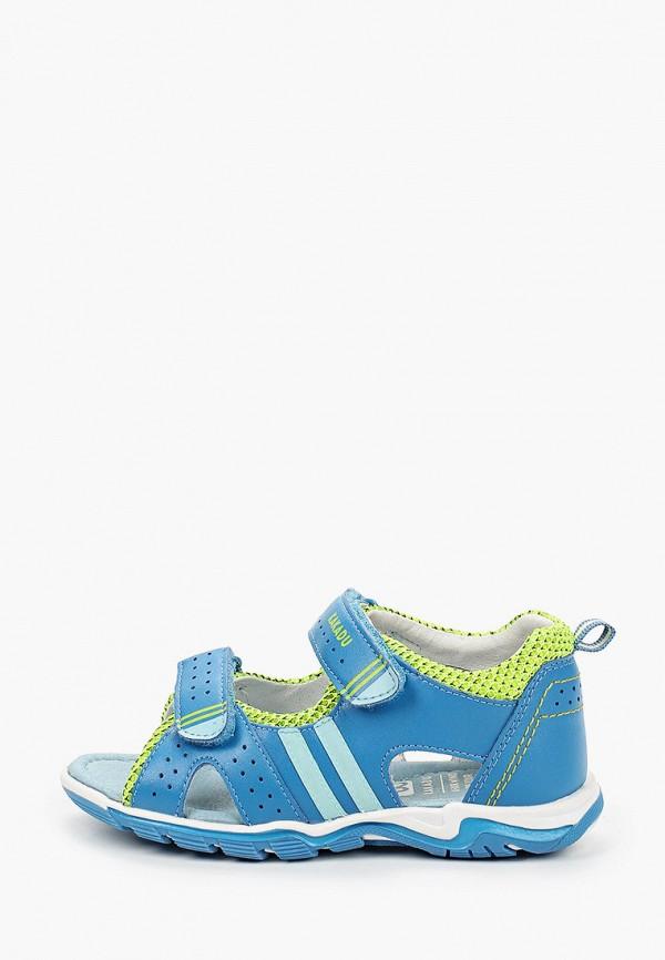 сандалии kakadu для мальчика, голубые