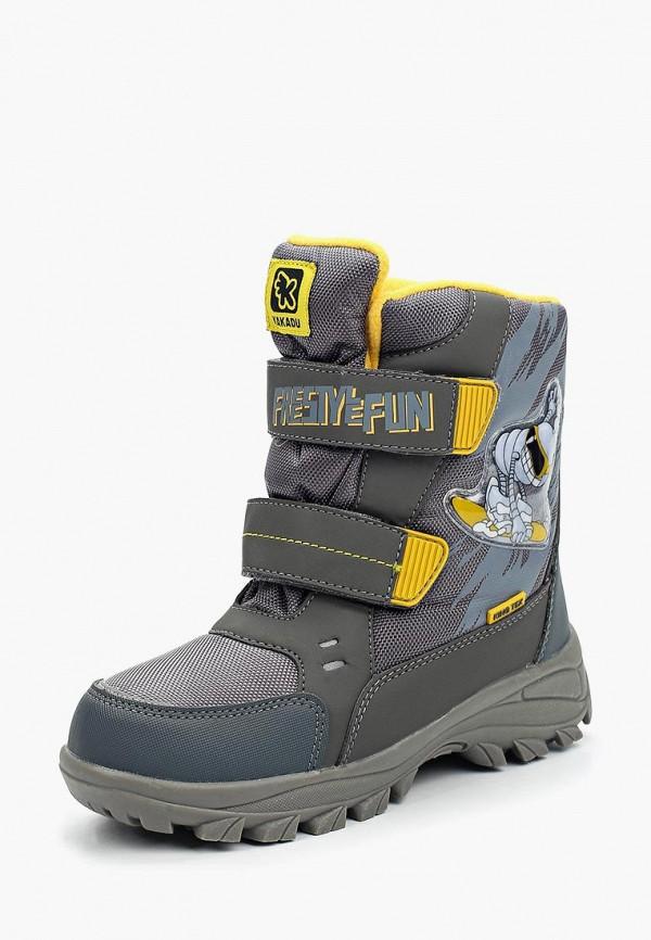 Купить Ботинки Kakadu, KA036ABURI75, серый, Осень-зима 2017/2018