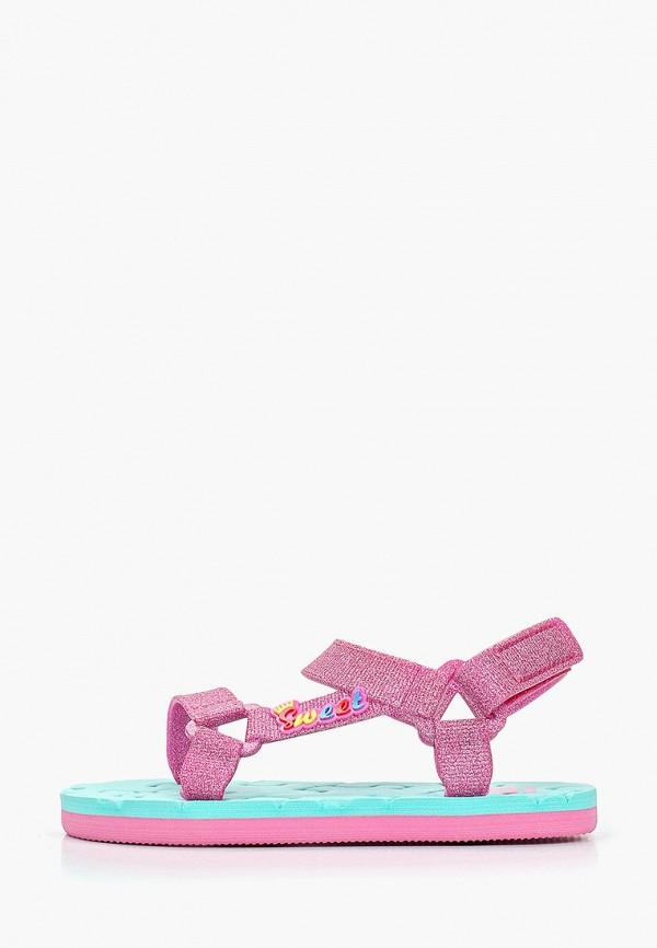 сандалии kakadu для девочки, розовые