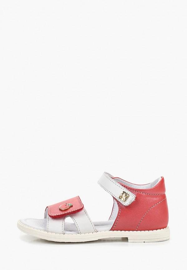 сандалии kakadu для девочки, красные