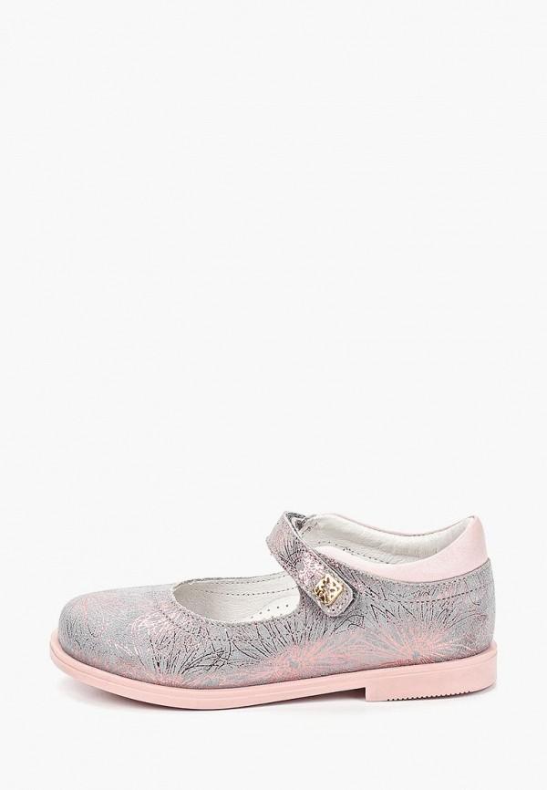 туфли kakadu для девочки, серые