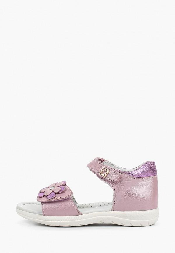 сандалии kakadu для девочки, фиолетовые