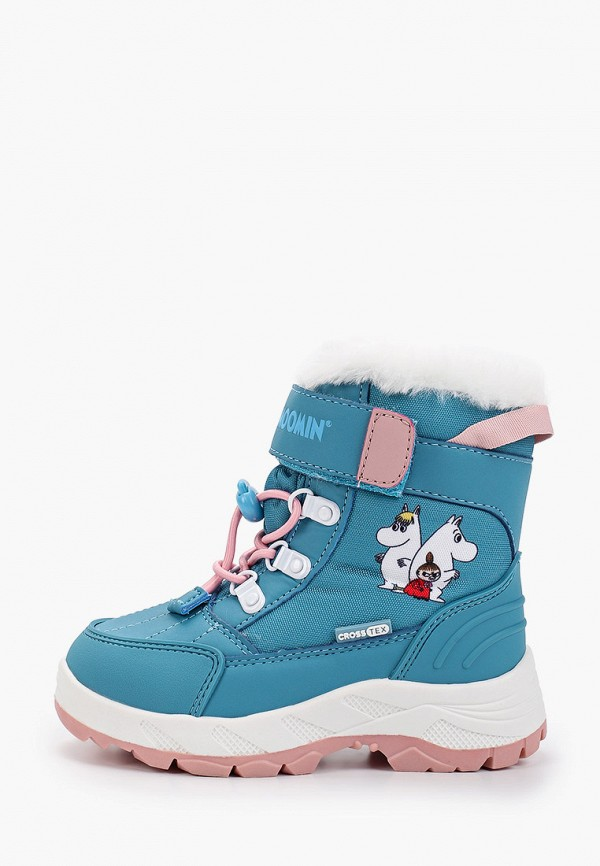 ботинки kakadu для девочки, голубые