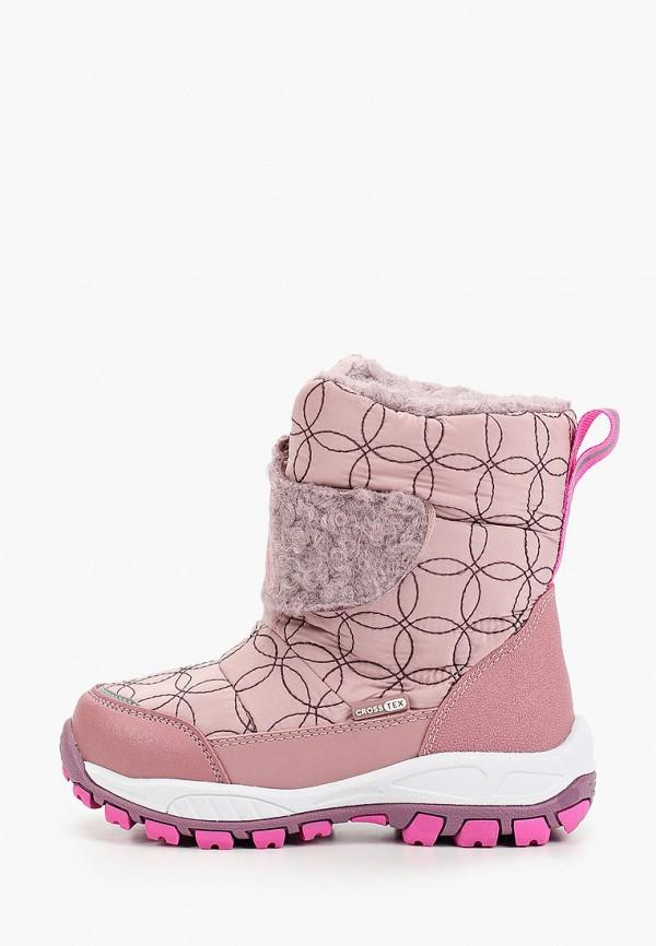 дутики kakadu для девочки, розовые