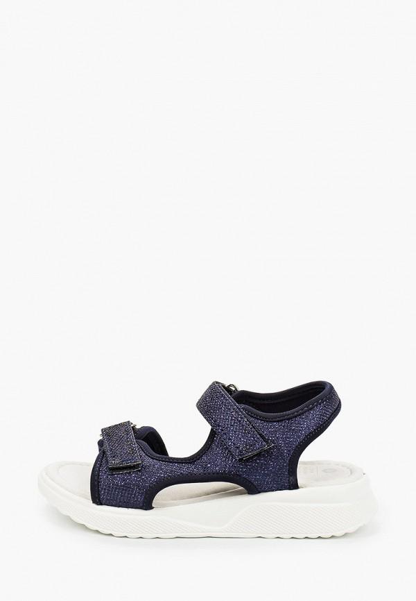сандалии kakadu для девочки, синие