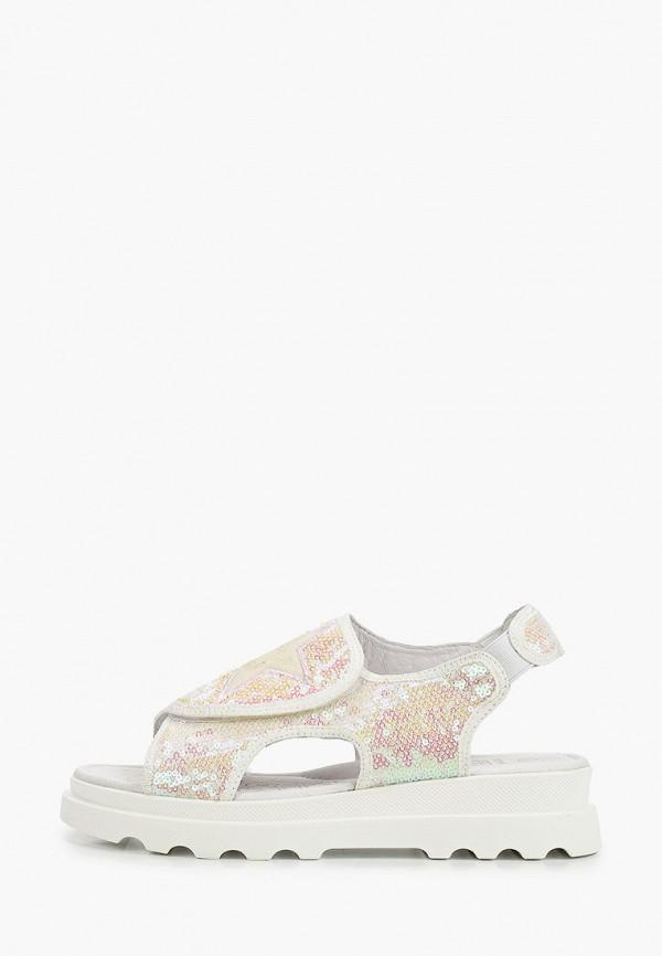 сандалии kakadu для девочки, белые