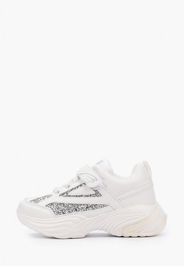 кроссовки kakadu для девочки, белые