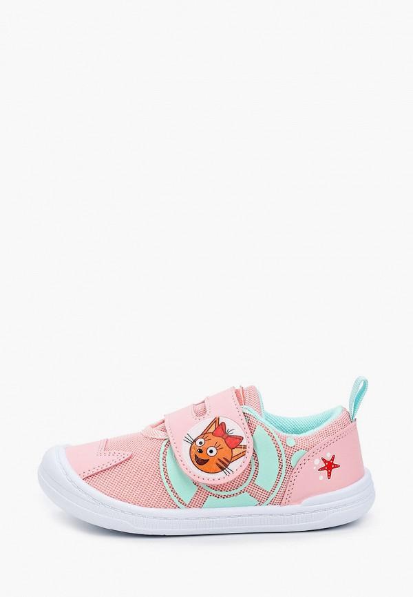кеды kakadu для девочки, розовые