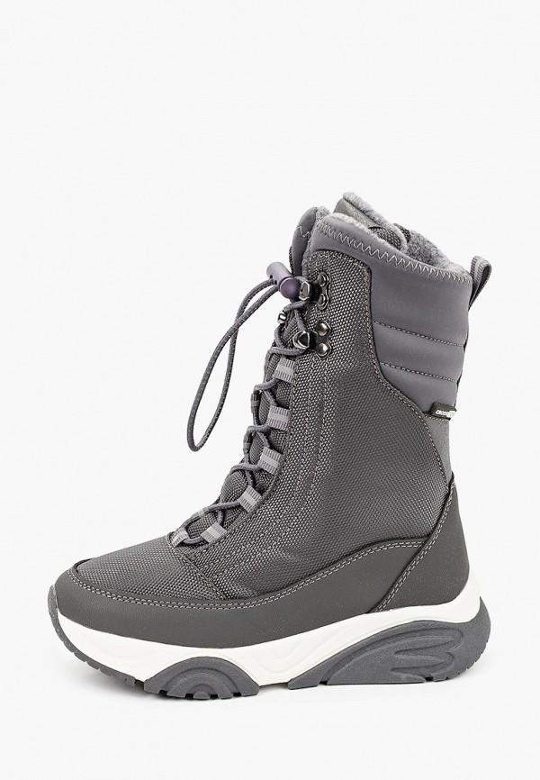 ботинки kakadu для девочки, серые