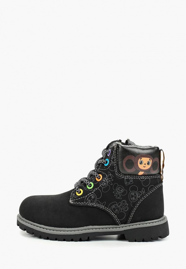 ботинки kakadu малыши, черные