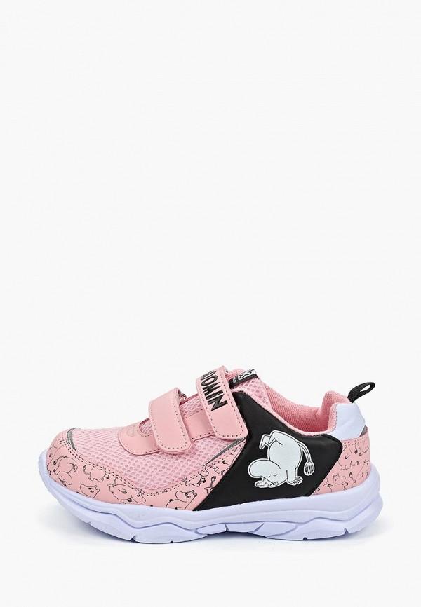 кроссовки kakadu для девочки, розовые