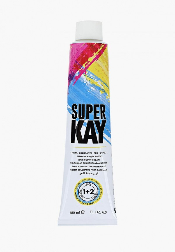 Купить Краска для волос KayPro, 12.1 SUPER KAY - СУПЕР ПЛАТИНОВЫЙ ЭКСТРА ПЕПЕЛЬНЫЙ БЛОНДИН 180 МЛ., ka037lwcltf5, белый, Весна-лето 2019