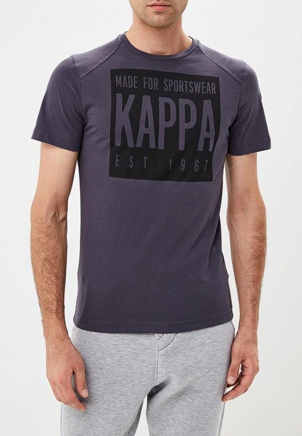 Футболка Kappa, KA039EMCPRX9, серый, Осень-зима 2018/2019  - купить со скидкой