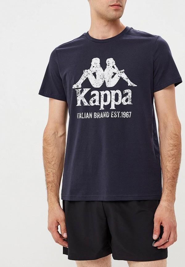 Купить Футболка Kappa, KA039EMCPRZ5, синий, Осень-зима 2018/2019