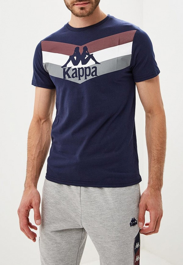 Фото - Футболка Kappa Kappa KA039EMCPSA0 куртка утепленная kappa kappa ka039emcpru5