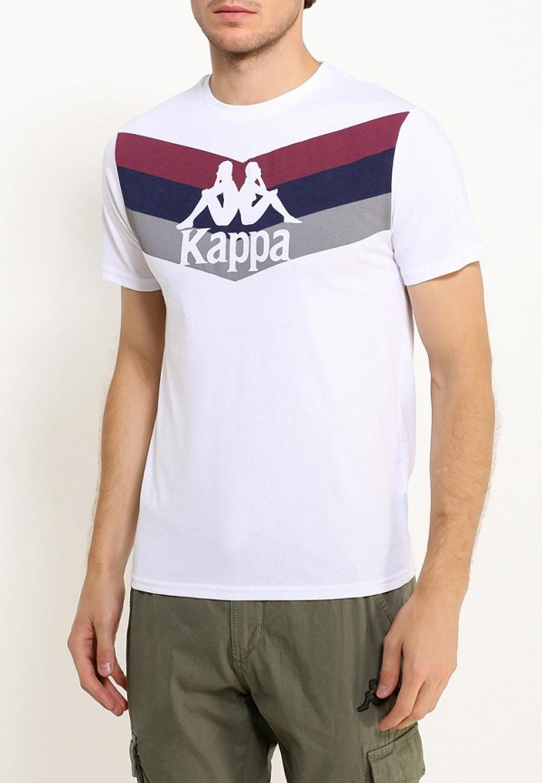 Футболка Kappa Kappa KA039EMWJD83 спортивная футболка kappa k0312td09